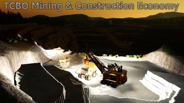 Trending mods today: TCBO Mining Construction Economy v0.3