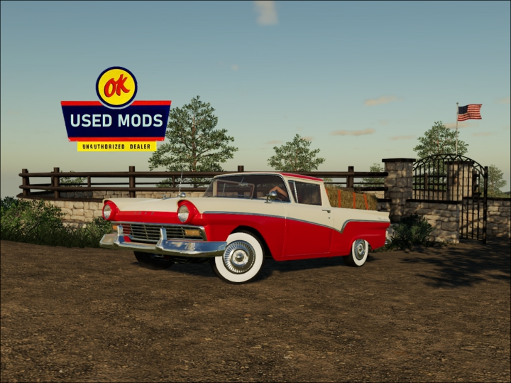 Trending mods today: 1957 Ford Ranchero - By OKUSED MODS