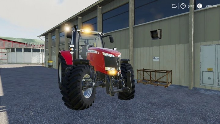 Trending mods today: Massey Ferguson MF7700 with front flashers v1.0.0.0