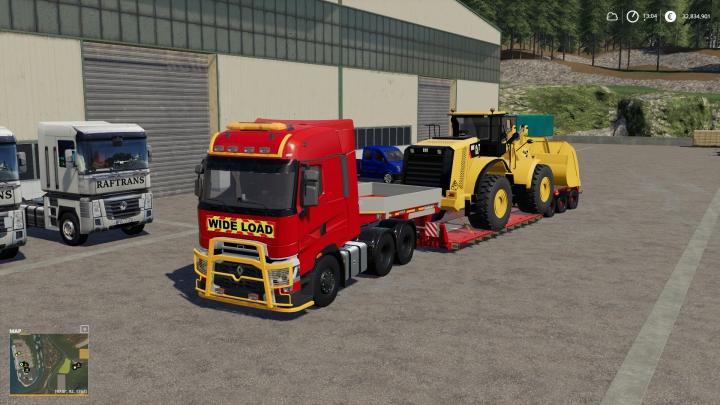 Renault T Range FS Miner's Edit category: Trucks