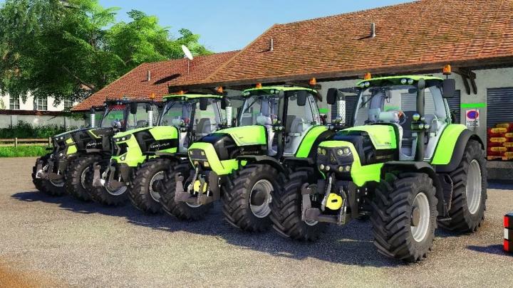 Deutz Fahr Series 6 PACK v1.0.0.0 category: Tractors