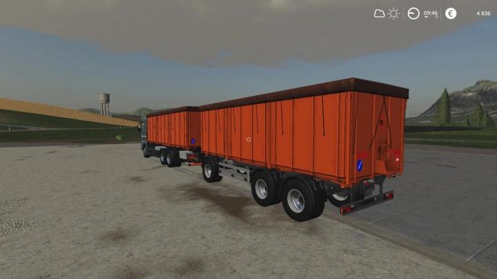 Man Grain Carrier-Rework v0.5 category: Trailers
