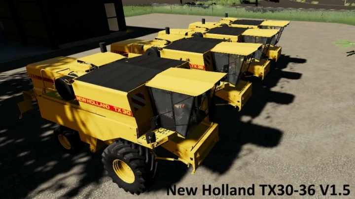 New Holland Update Tx30-36 v1.5.0 category: Combines