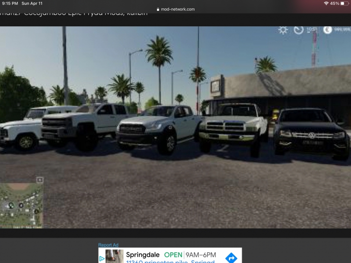 Pickup trucks pack by Josha  category: Trucks