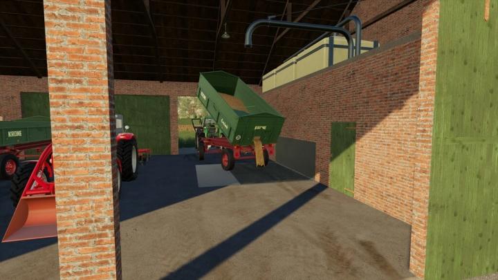 Westphalian Brick Barn v1.0.0.0 category: Objects