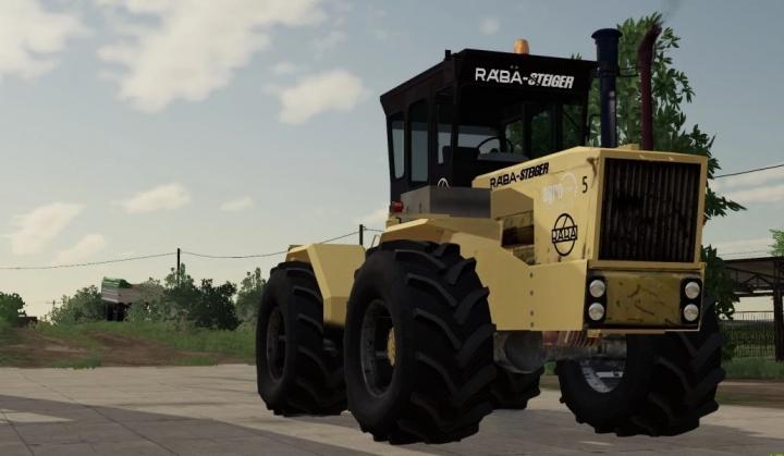 Raba Steiger 250 BlackPower v1.0.0.0 category: Tractors