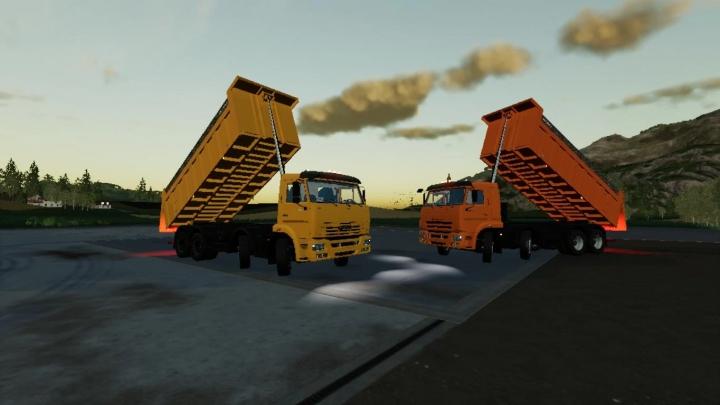 KAMAZ 65201 v1.1.0.0 category: Trucks