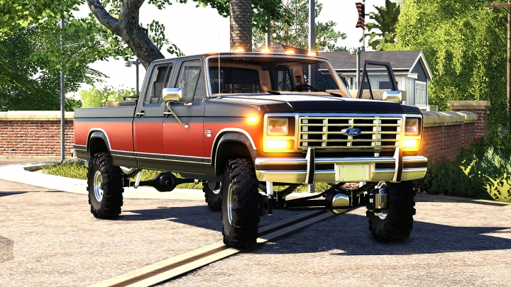 Trending mods today: 1986 Ford F-350