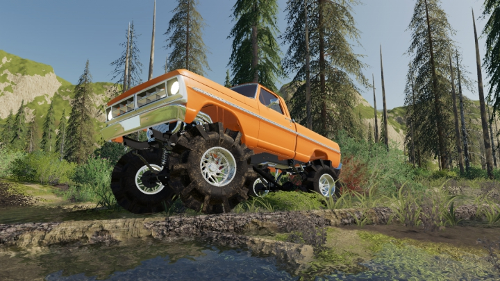 Trending mods today: 1970 Ford Mud Truck