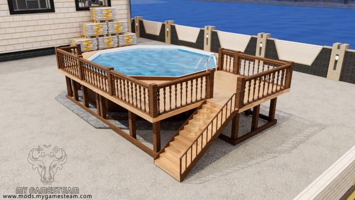 Trending mods today: Wooden Pool Deck