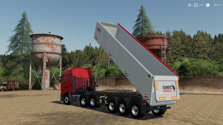 Trending mods today: Schmitz CargoBull S.KI Heavy 8.5 Semi Tipper