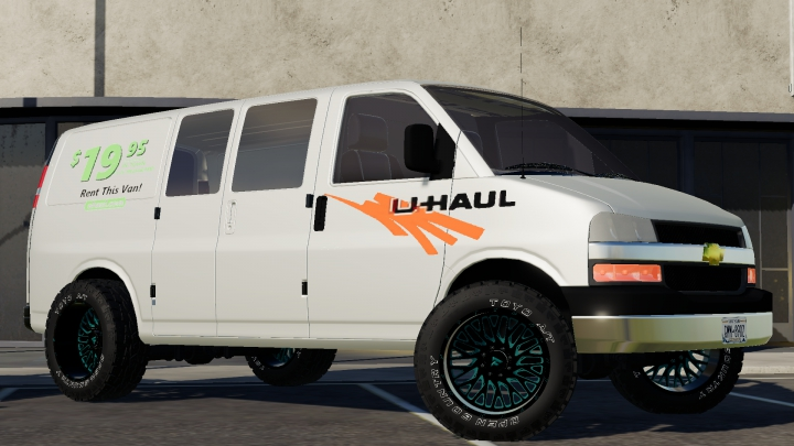 Trending mods today: 2005 Chevy Express Van Uhaul Custom