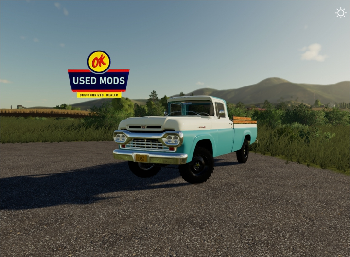 Trending mods today: 1960 Ford F100 4x4 - By OKUSED MODS