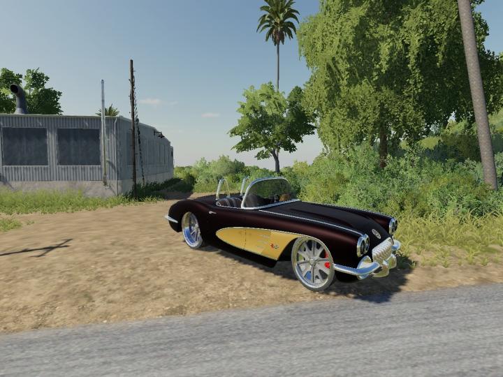 Trending mods today: Art Morrison 1960 Corvette