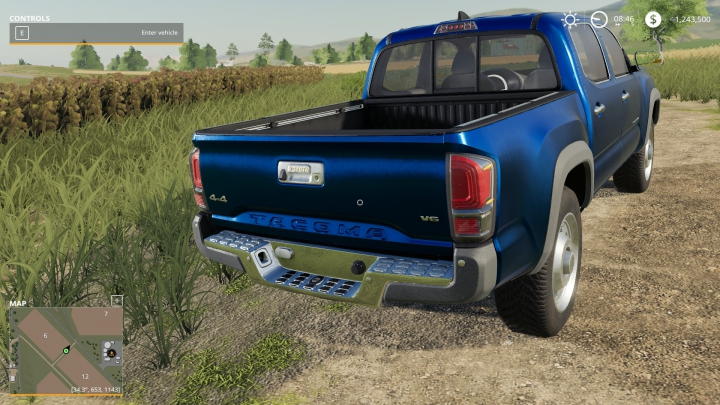 Best mods from the day: FS19 Toyota Tacoma  Game Warden.