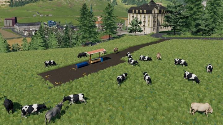 Trending mods today: Brazilian Open Cow Pasture v1.0.0.0