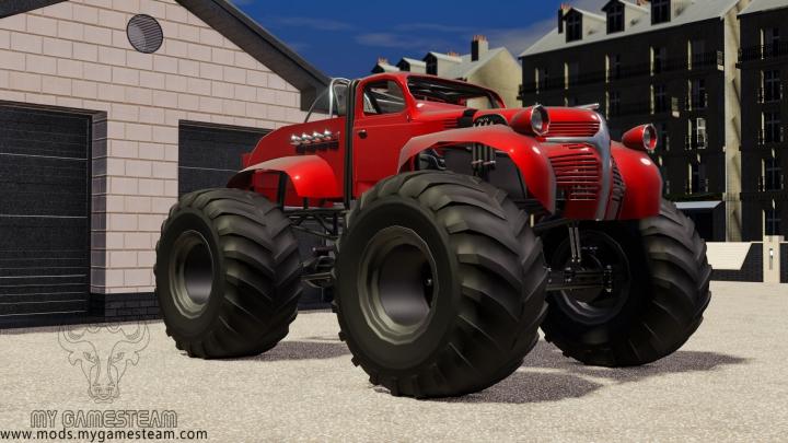 Trending mods today: Big Foot Truck