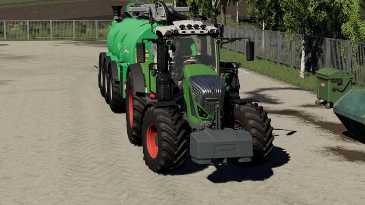 Tractors Fendt 800 S4 And Fendt 900 TMS Vario Full Sounds Pack v1.0.0.0