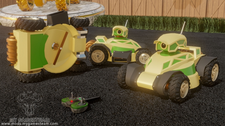 Trending mods today: Remote Mower
