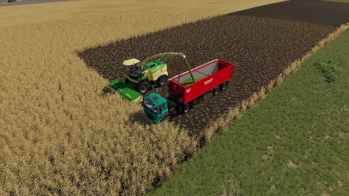 Krone Xdisc 620 25 meters v4.0.0.0 category: Cutters