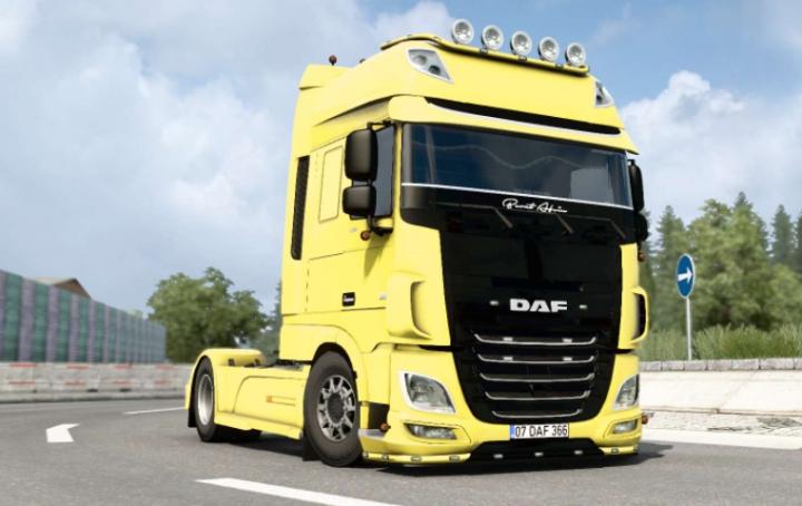 Trending mods today: DAF XF Super Space Cab  v1.1