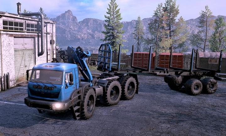 Kamaz Arctic v4.7 category: Trucks