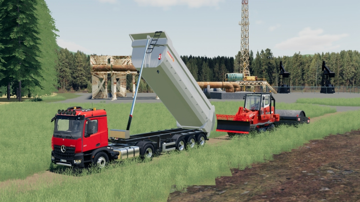 Trending mods today: Schmitz CargoBull Half Tube Semi Tipper
