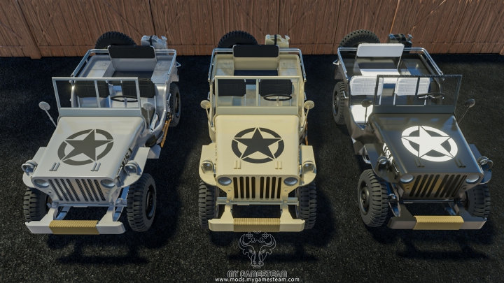 Trending mods today: Jeep Willys 4X4