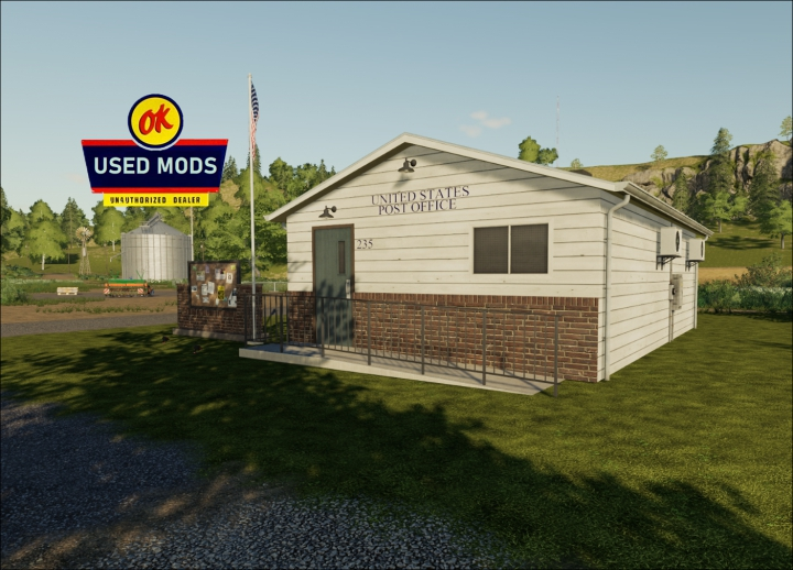 Trending mods today: A-OK Placable Post Office - By OKUSED MODS