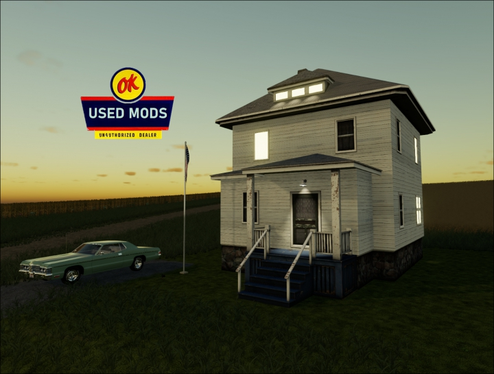Trending mods today: A-OK Placable Old House - By OKUSED MODS