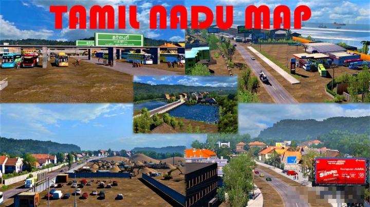 Mapa - Tamil Nadu Para V.1.40.X By: Adie e Imtiaz category: Maps