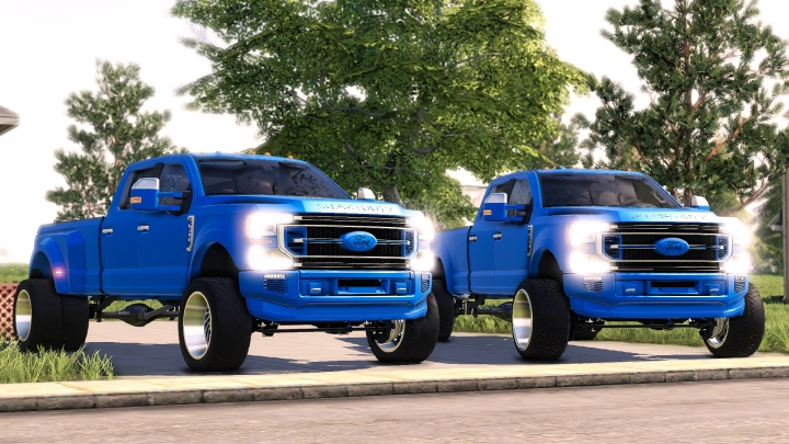 Trending mods today: 2020 Ford F-350-F-450