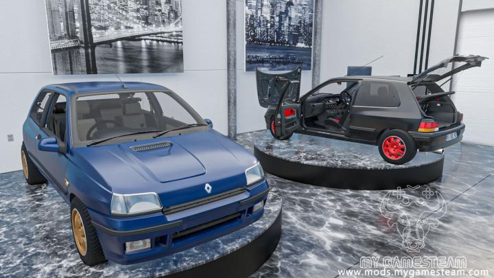 Trending mods today: Renault Clio 1 Williams 1993