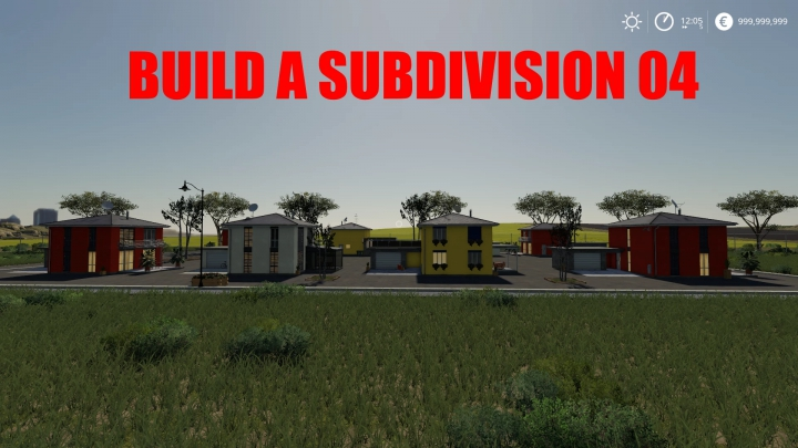 Trending mods today: BUILD A SUBDIVISION 04 v1.0