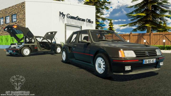 Trending mods today: Peugeot 205 Turbo 1984