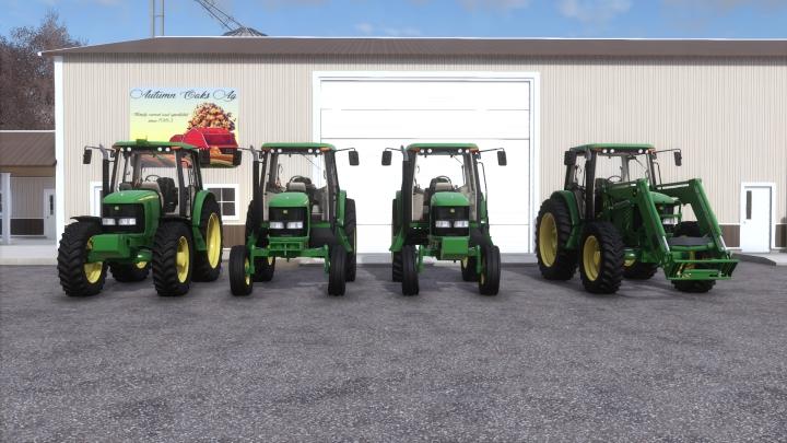 John Deere 6020 Series US Spec category: Tractors