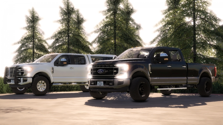 Trending mods today: 2020 Ford F-250-F-450 Work Truck