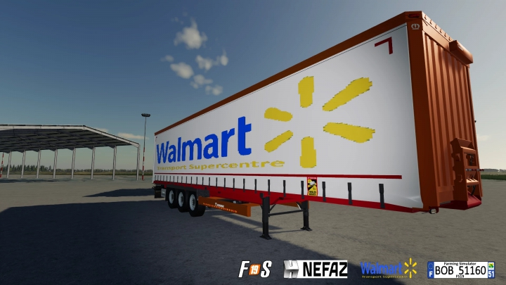 Best mods from the day: Pack Truck Trailers Walmart By BOB51160.