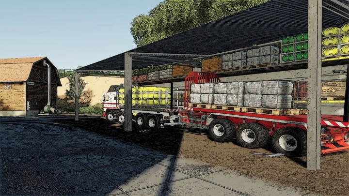 Trending mods today: Warehouse Of Products On Pallets v1.0.0.0