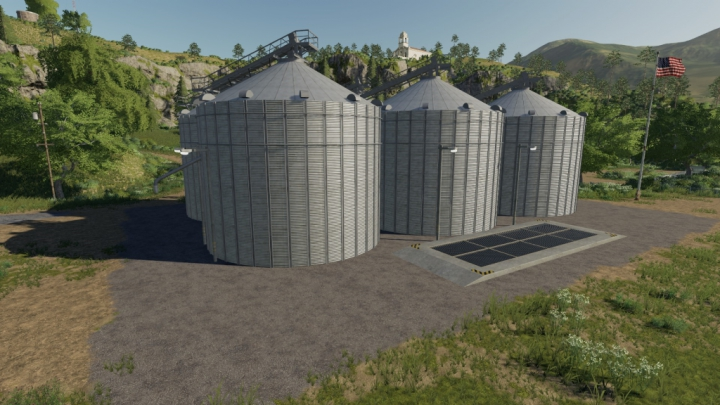 Farm Silo Complex Pack category: Packs