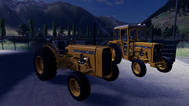Tractors Massey Ferguson 20 Series v1.1.0.0