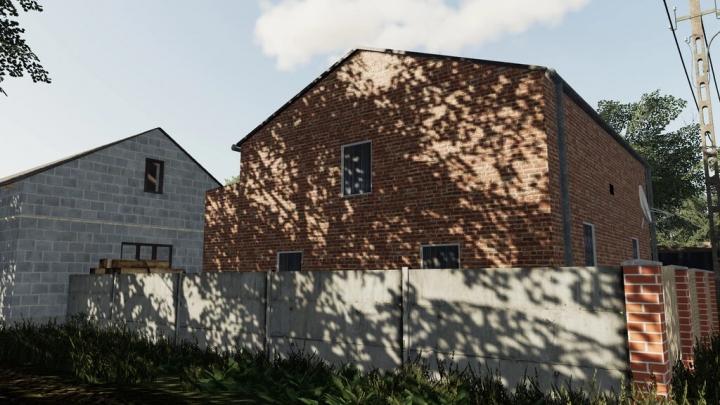 Old Medium Brick House v1.0.0.0 category: Objects