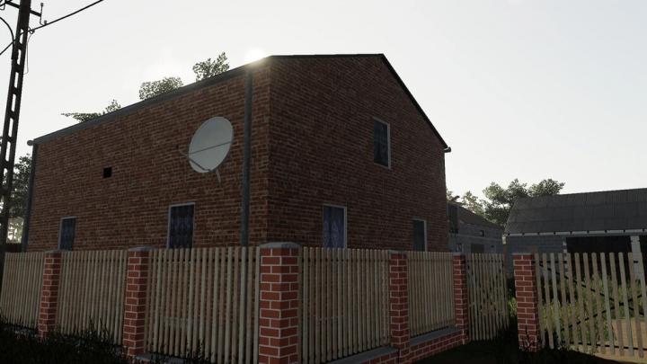 Objects Old Medium Brick House v1.0.0.0