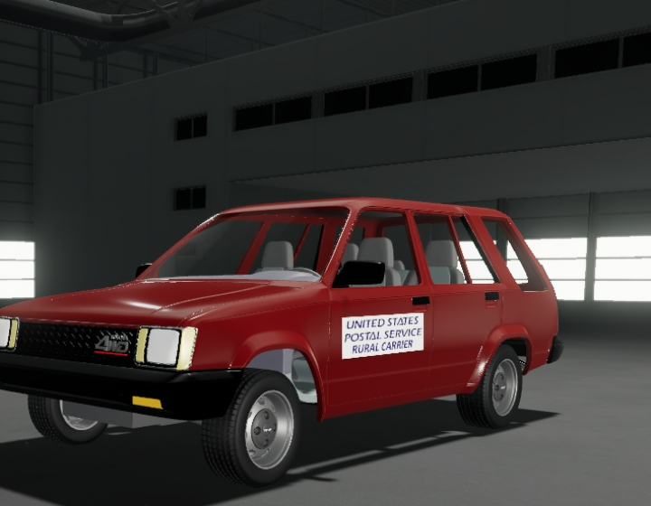 Trending mods today: 86 Toyota USPS Rural Carrier