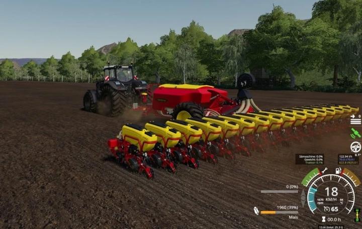 Vaderstad Tempo L16/fertilizer or seed tank 5000l v1.0.0.0 category: Seeder