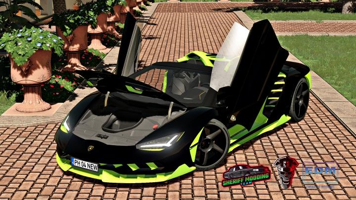 Trending mods today: Lamborghini Centenario Roadster