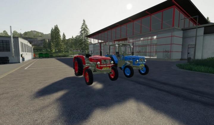 Tractors Zetor 5511 v1.0.0.0