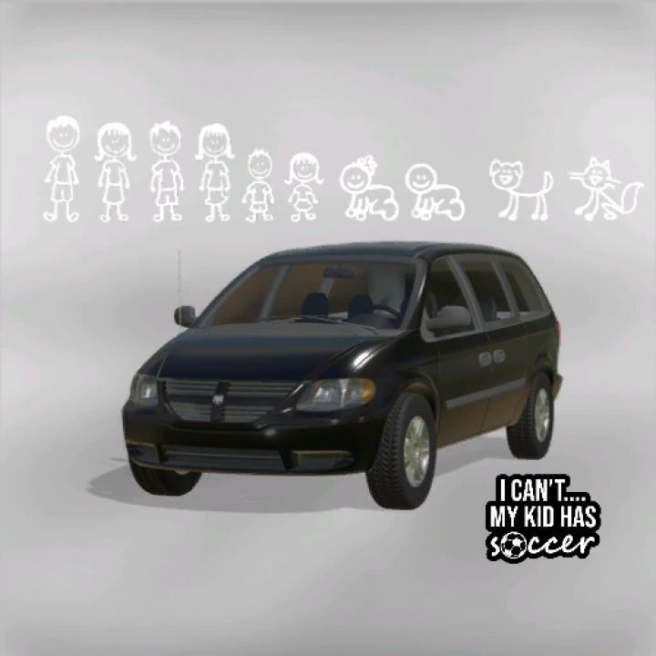 Trending mods today: Dodge Grand Caravan