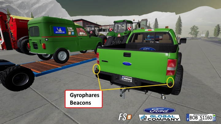 Trending mods today: FORD GLOBAL COMPANY By BOB51160 v1.0.0.1
