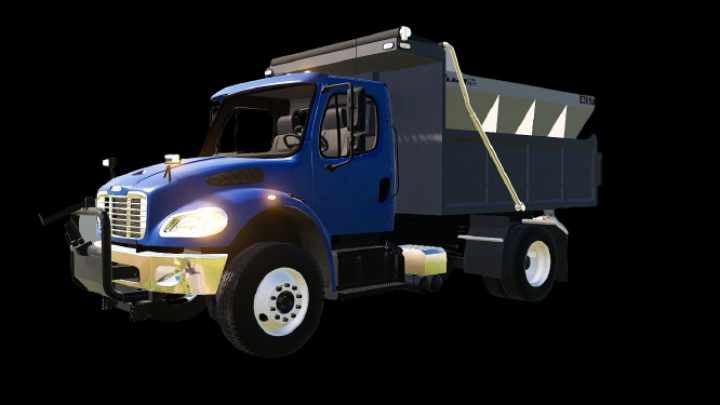 Trending mods today: Freightliner M2 6-wheeler dump with plow mounts